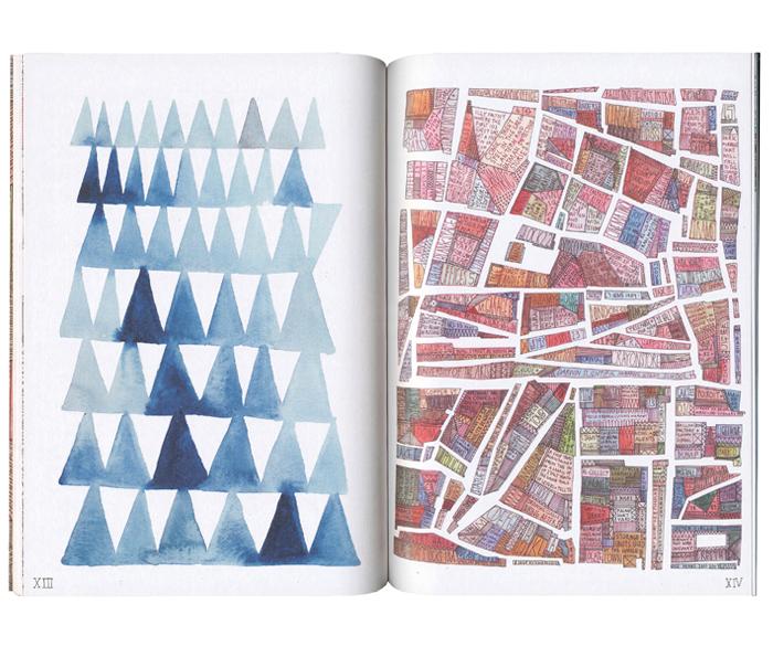 The Road Book >> Maps | Nigel Peake